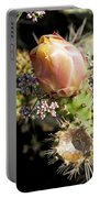 Prickly Pear Flower 4 Portable Battery Charger