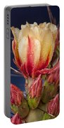 Prickly Pear Flower Wet Portable Battery Charger
