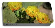 Prickly Pear Flowers H42 Portable Battery Charger