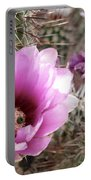 Prickly Petals Portable Battery Charger