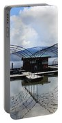 Priest Lake Boat Dock Reflection Portable Battery Charger