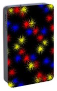Primary Bursts Under Glass Portable Battery Charger