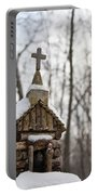 Primitive Church In The Mountains Portable Battery Charger