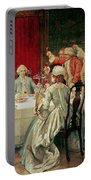 Prince Charles Edward Stuart In Edinburgh Portable Battery Charger by William Brassey Hole