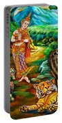 Prince In The Forest Of Life Portable Battery Charger