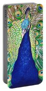 Prince Of The Peacocks Portable Battery Charger