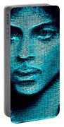 Prince - Tribute In Blue Portable Battery Charger
