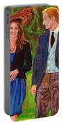 Prince William And Kate The Young Royals Portable Battery Charger