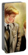Prince William And Prince Harry Portable Battery Charger