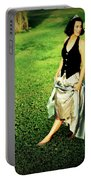 Princess Along The Grass Portable Battery Charger