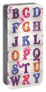 Princess Alphabet Portable Battery Charger by Debbie DeWitt