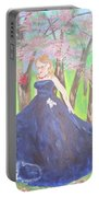 Princess In The Forest Portable Battery Charger