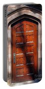 Princeton University Wood Door  Portable Battery Charger