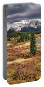 Pristine Mountain Lake Portable Battery Charger