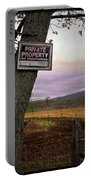 Private Property Portable Battery Charger
