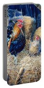 Prized Rooster Portable Battery Charger