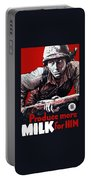 Produce More Milk For Him - Ww2 Portable Battery Charger