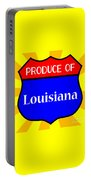 Produce Of Louisiana Shield Portable Battery Charger