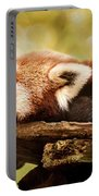 Profile Of A Red Panda Portable Battery Charger