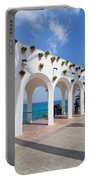 Promenade In Nerja Portable Battery Charger