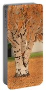 Prosser - Autumn Birch Trees Portable Battery Charger