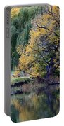 Prosser - Autumn Reflection With Geese Portable Battery Charger
