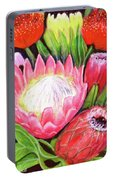 Protea Flowers #240 Portable Battery Charger