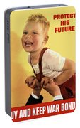 Protect His Future Buy War Bonds Portable Battery Charger