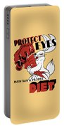 Protect Your Eyes - Maintain A Proper Diet Portable Battery Charger