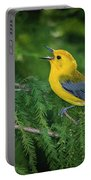 Prothonatory Warbler 9809 Portable Battery Charger