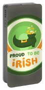 Proud To Be Irish Portable Battery Charger