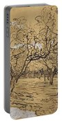 Provencal Orchard Arles  March - April 1888 Vincent Van Gogh 1853  1890 Portable Battery Charger