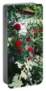 Provence Red Roses Portable Battery Charger