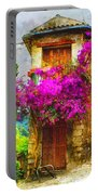 Provence Street Portable Battery Charger