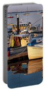 Provincetown Fishing Boats, Ptown, Ma Portable Battery Charger