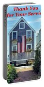 Provincetown Patriot By Sharon Eng Portable Battery Charger