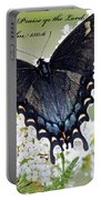 Psalm Scripture - Swallowtail Portable Battery Charger