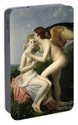 Psyche Receiving The First Kiss Of Cupid Portable Battery Charger