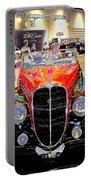 Psychedelic 1947 Delahaye 135m Letourner Et Marchand Cabriolet Portable Battery Charger