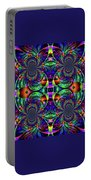 Psychedelic Abstract Kaleidoscope Portable Battery Charger