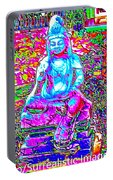 Psychedelic Buddha Portable Battery Charger