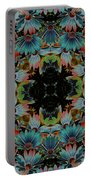 Psychedelic Daisies Portable Battery Charger