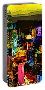 Psychedelic  Dubai Art Portable Battery Charger