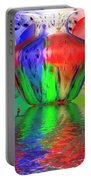 Psychedelic Flight Portable Battery Charger