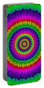 Psychedelic Journey Portable Battery Charger