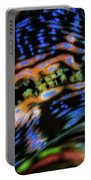 Psychedellic Clam Portable Battery Charger