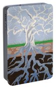 Psycodelic Tree Portable Battery Charger