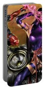 Psylocke And Deadpool Portable Battery Charger