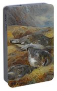 Ptarmigan Danger Aloft By Thorburn Portable Battery Charger