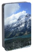 Ptarmigan Trail Overlooking Elizabeth Lake 5 - Glacier National Park Portable Battery Charger